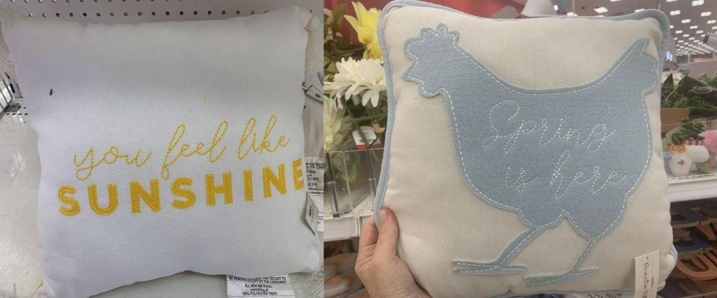 2 Spring Pillows