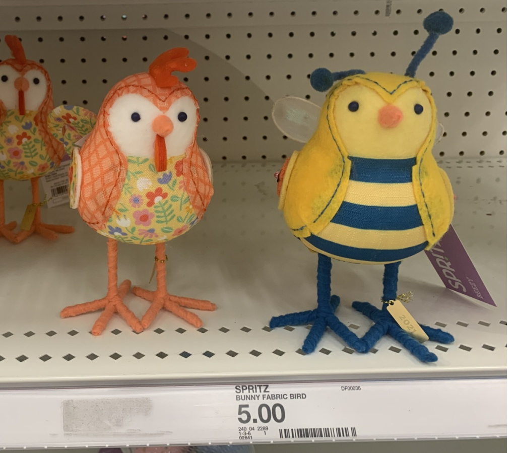 Animal themed Spring Birds