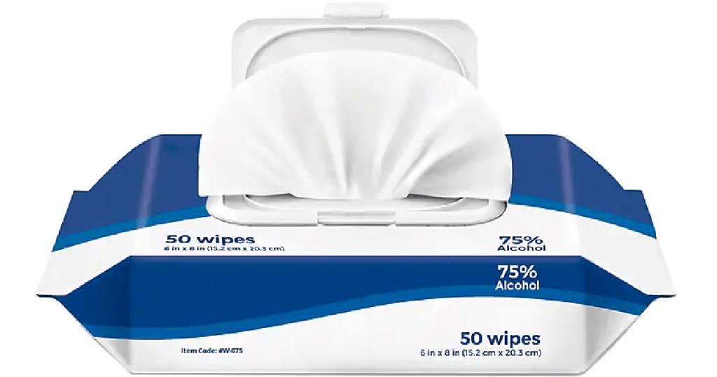 Staples Sanitizing Wipes