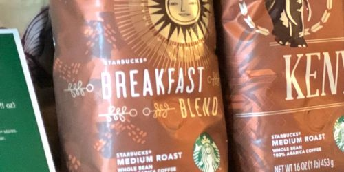 Starbucks Breakfast Blend 20oz Ground Coffee Only $7.78 Shipped on Amazon