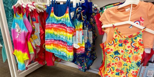 Buy One, Get One 50% Off Toddler & Kids Swimwear on Target.com | Prices from $7.50 Each