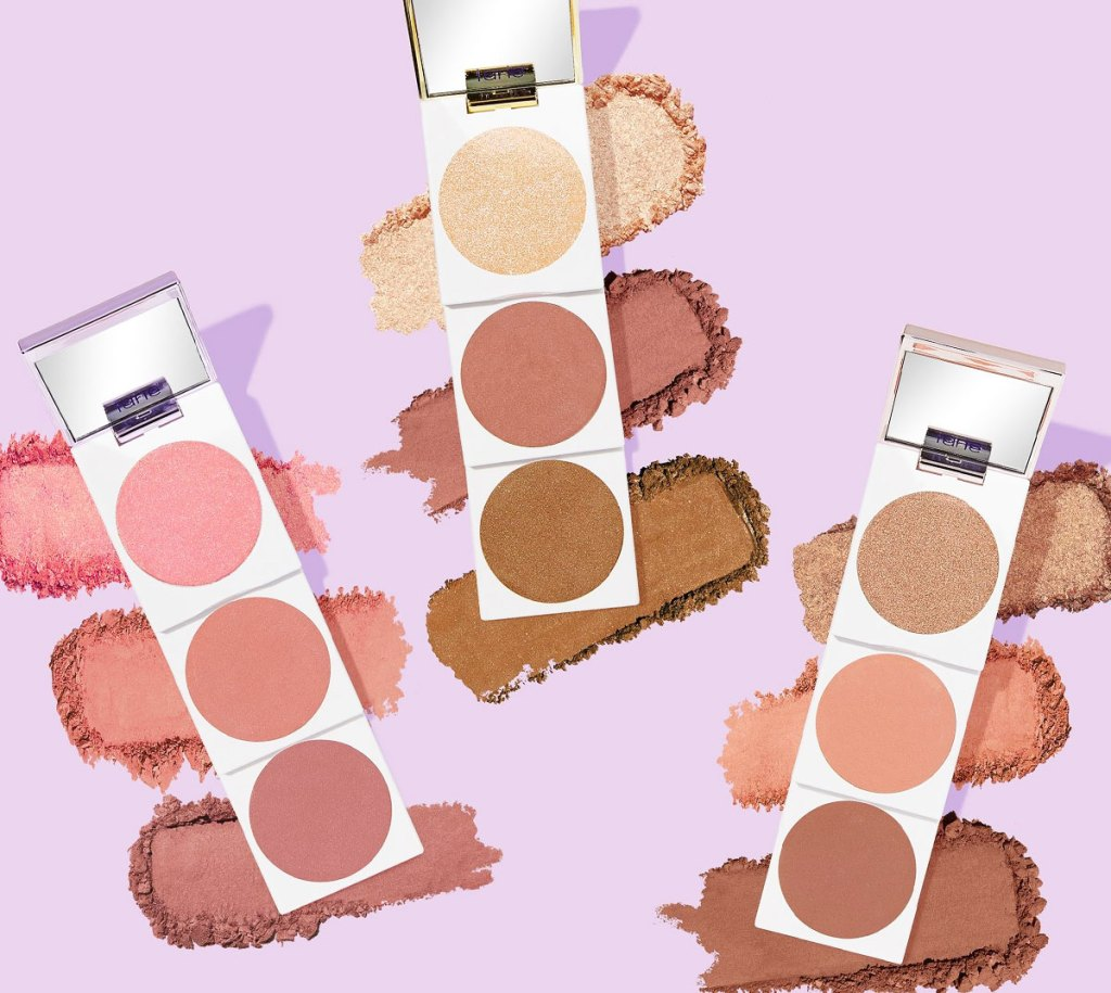 nine shades of tarte blush