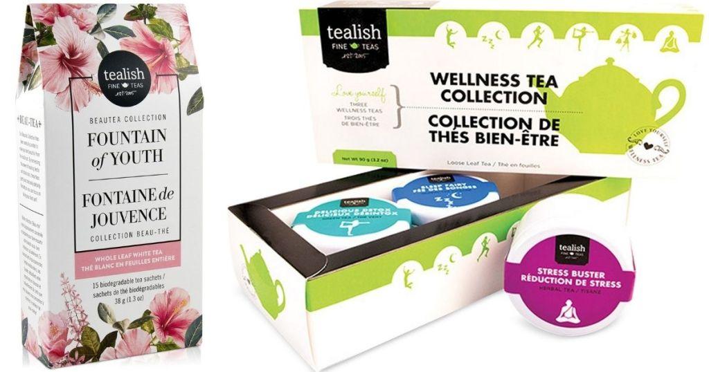 two sets of Tealish Teas