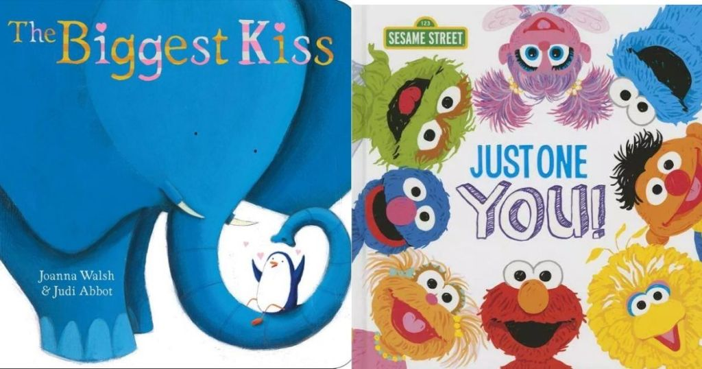 The Biggest Kiss & Just One You board book covers