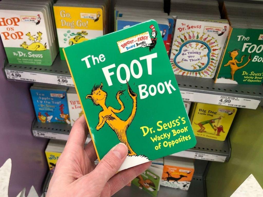 The Foot Book Dr Seuss Board Book