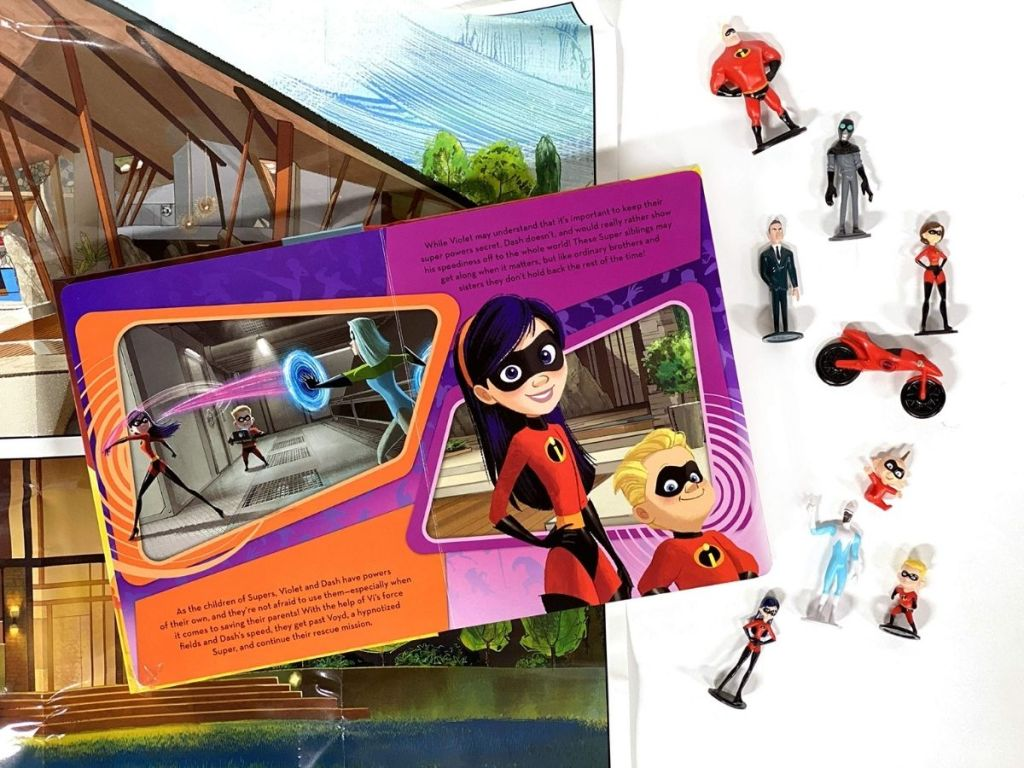 The Incredibles Busy Book