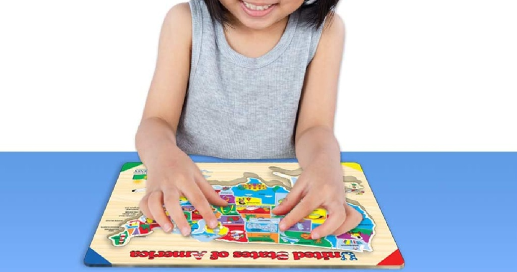 The Learning Journey USA Map Lift & Learn Puzzle