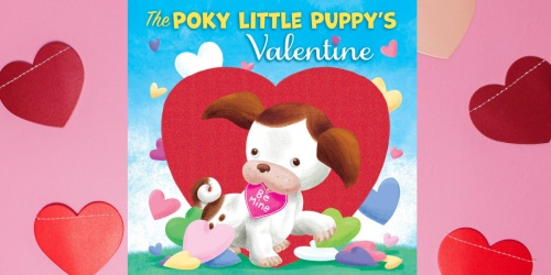 The Poky Little Puppy's Valentine Board Book Only $1.42 on Amazon or Walmart.com (Regularly $6)