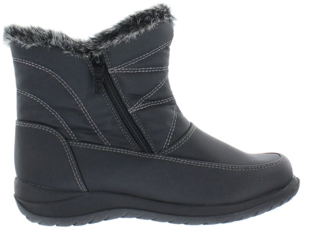 Totes Women's JCP Boots in black