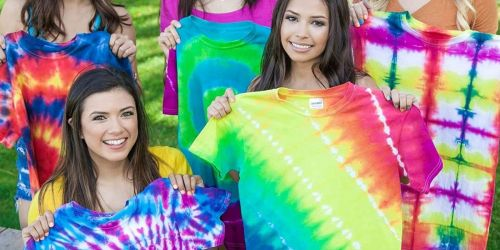 Tulip 15-Color Tie-Dye Party Kit Only $14 on Amazon | Enough for 30 Projects