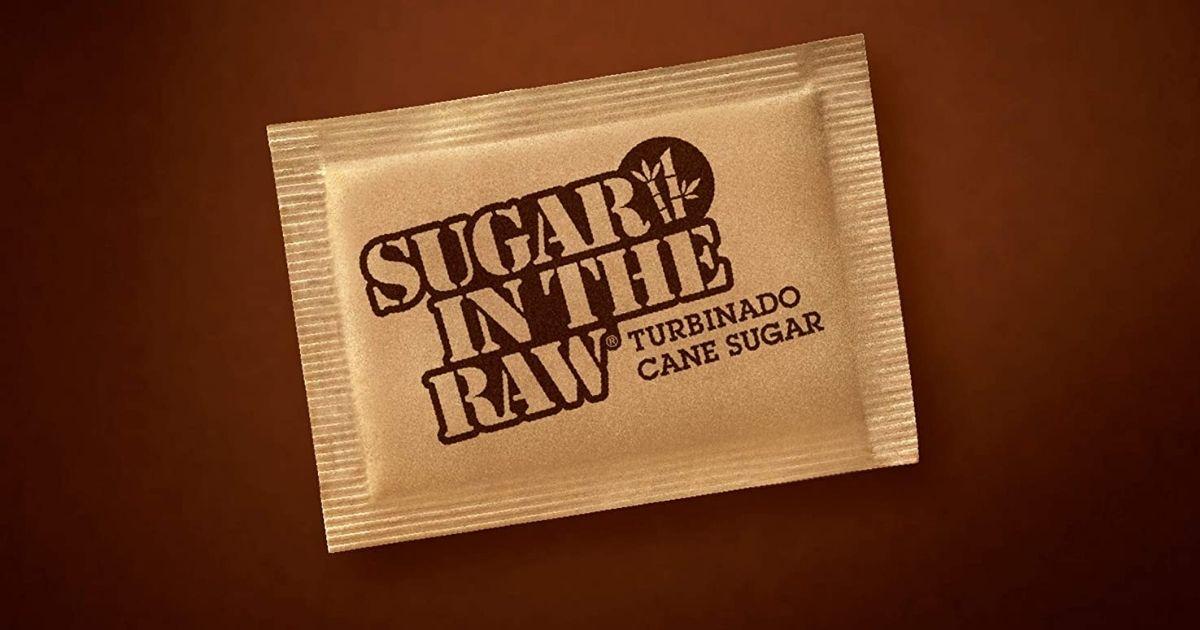 Turbinado Sugar In The Raw packet