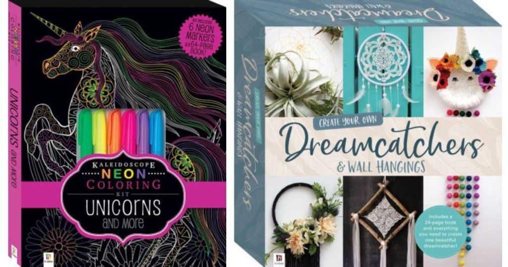 Unicorns and Dream Catchers books