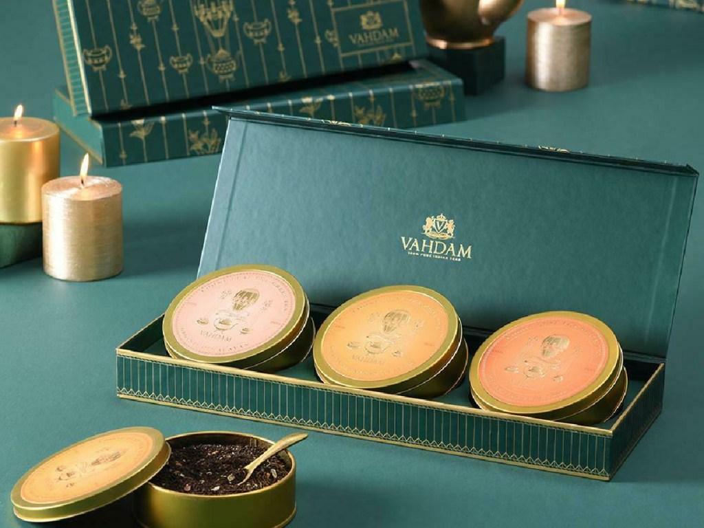 VAHDAM Chai Tea Trio Gift Set
