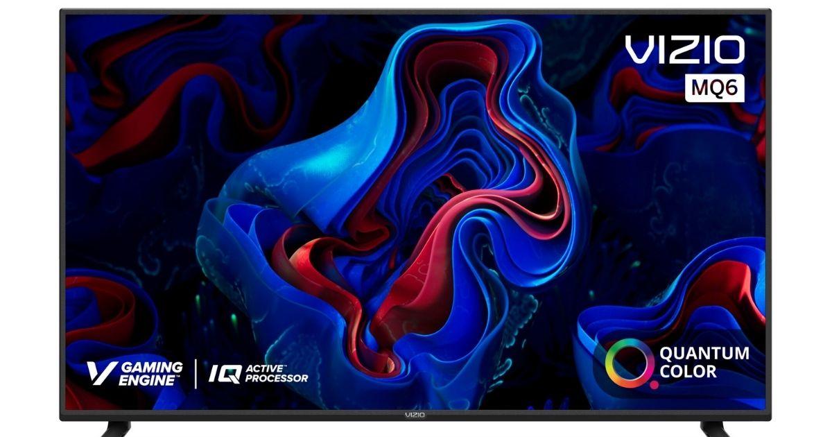stock image of a vizio tv