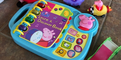VTech Peppa Pig Learn & Discover Interactive Book Only $13.59 on Amazon (Regularly $22)