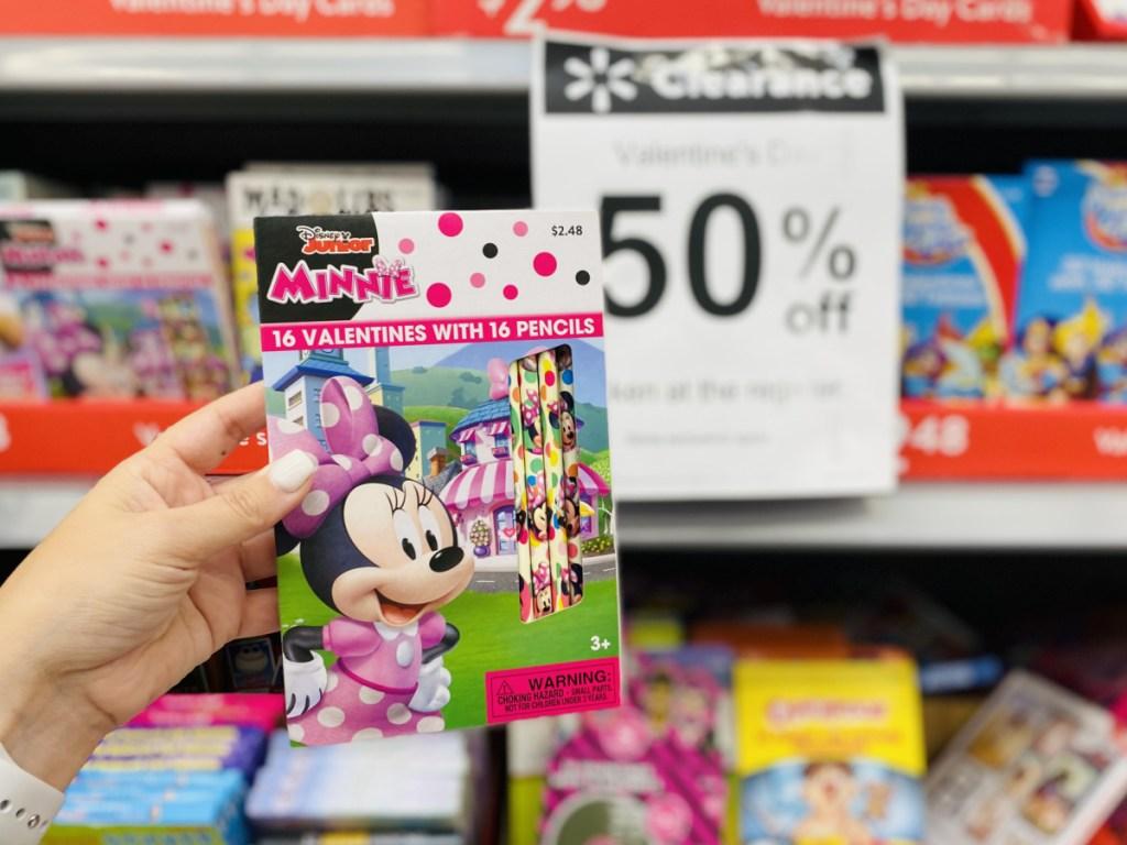 Disney Junior Minnie Mouse Valentine Pencils
