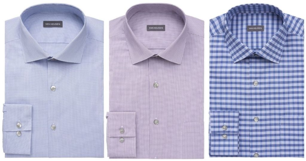 3 Van Heusen JCP Men's Dress Shirts