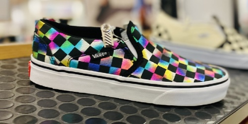 50% Off Colorful Vans + Free Shipping for Select Kohl's Cardholders