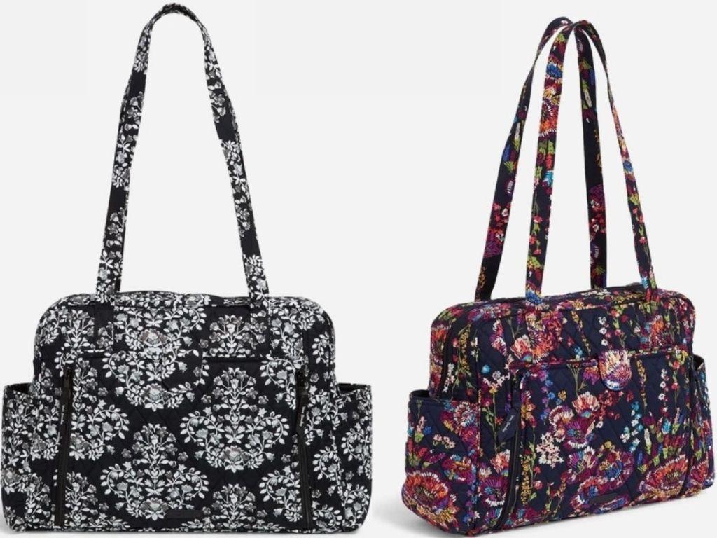 Two Vera Bradley baby bags