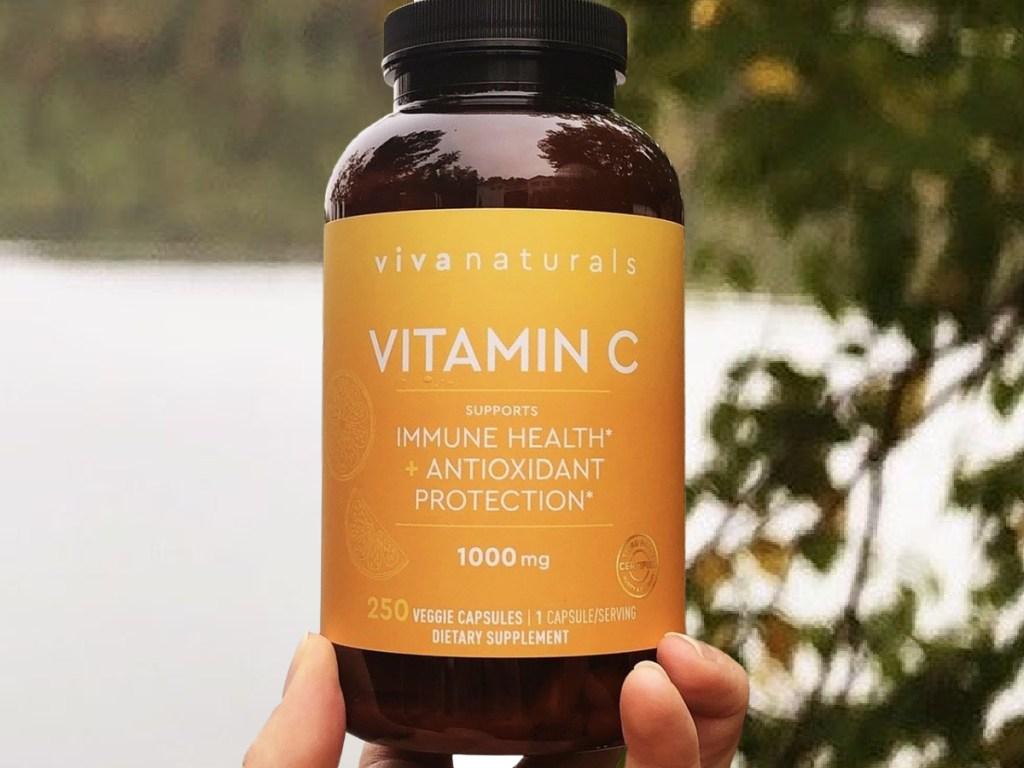 Viva Naturals Vitamin C 1000mg 250-Count Capsules