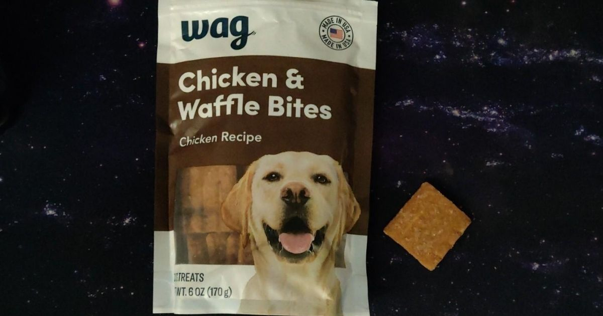 Wag Chicken and Waffle Biscuits