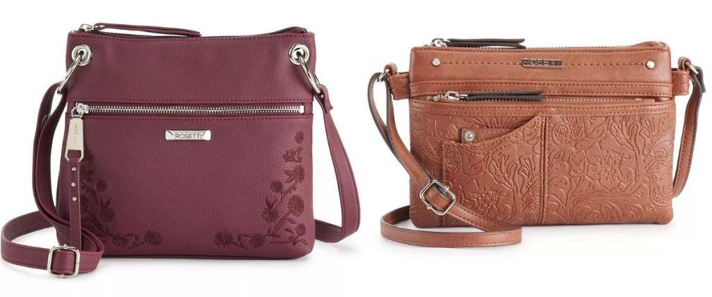 2 Women's Crossbody Bags