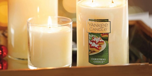 Yankee Candle Christmas Cookie Candle Only $7.99 on Amazon (Regularly $17)