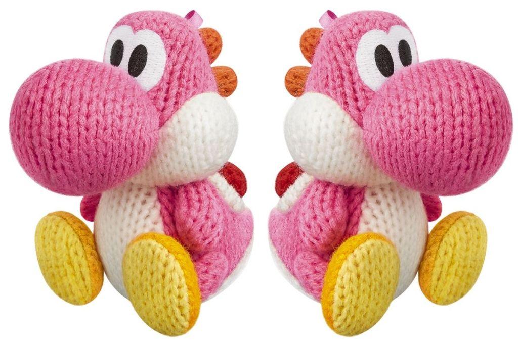 2 Yoshi Pink Yarn amiibo