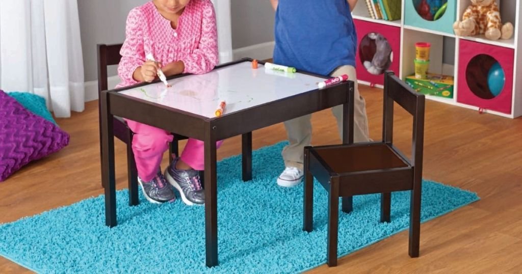 Your Zone 3 Piece Dry Erase Activity Table Play Set