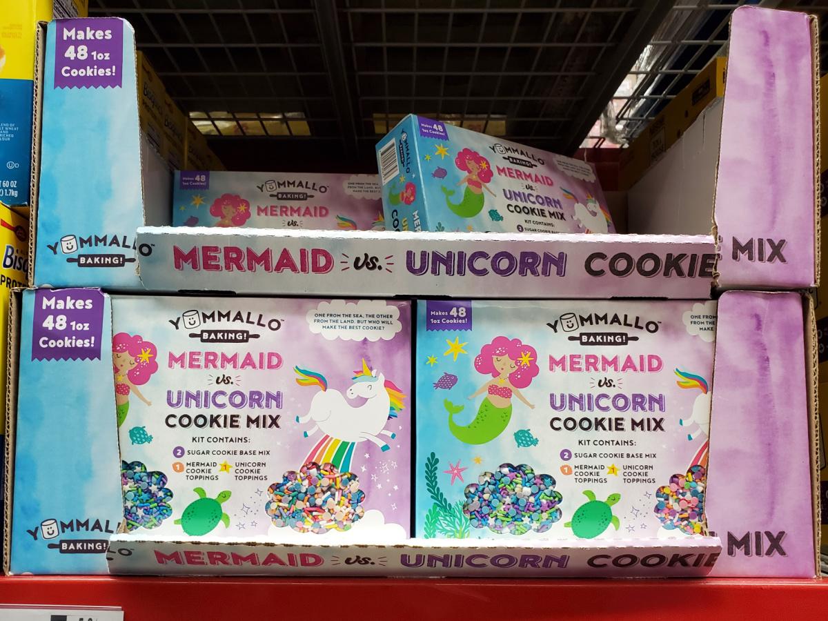 mermaid and unicorn sugar cookie kit in store