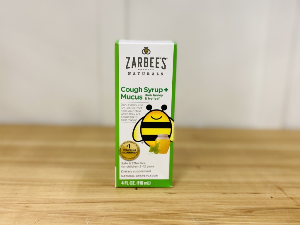 Zarbees All Natural Cough Sryup