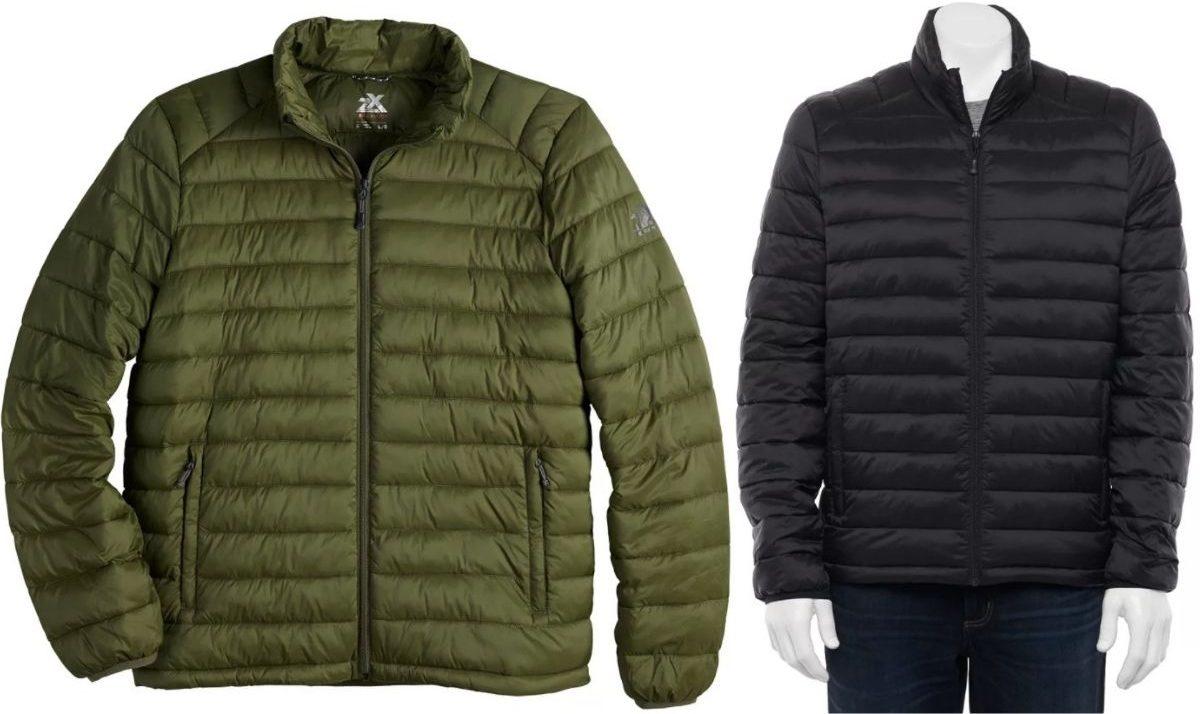ZeroXposur Lightweight Quilted Puffer Jacket