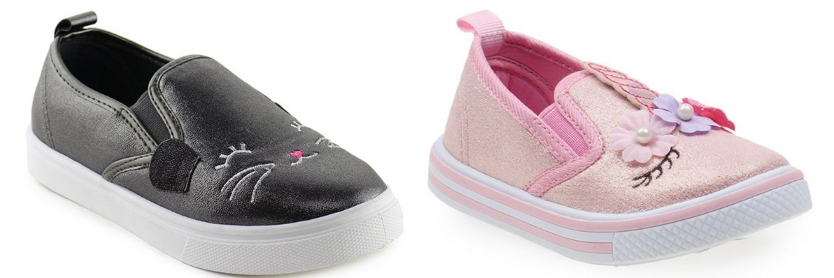 2 pair Zulily Girls Sneakers