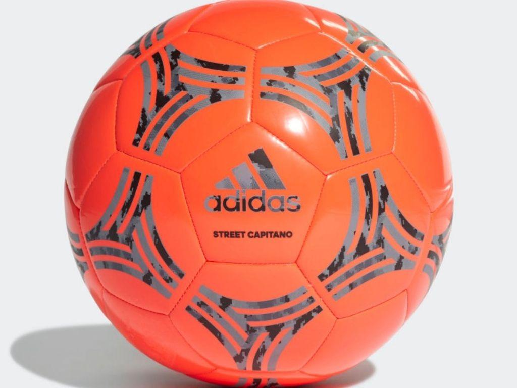orange street capitano adidas soccer ball