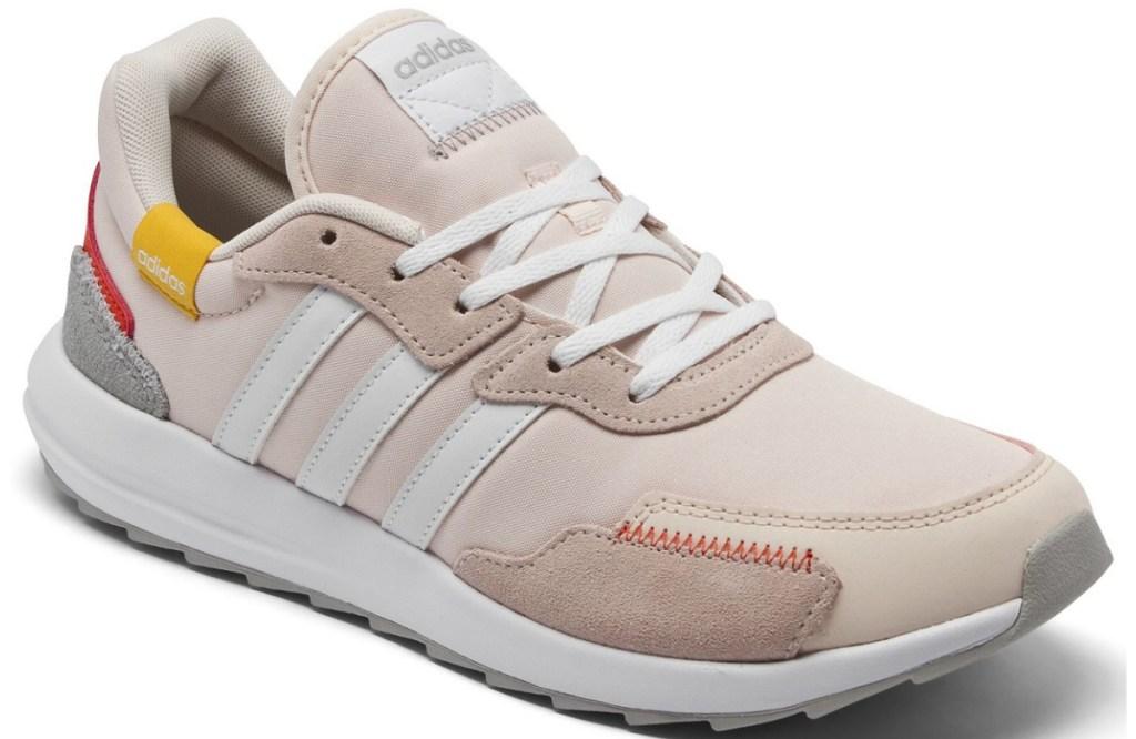 adidas womens retro sneaker light pink