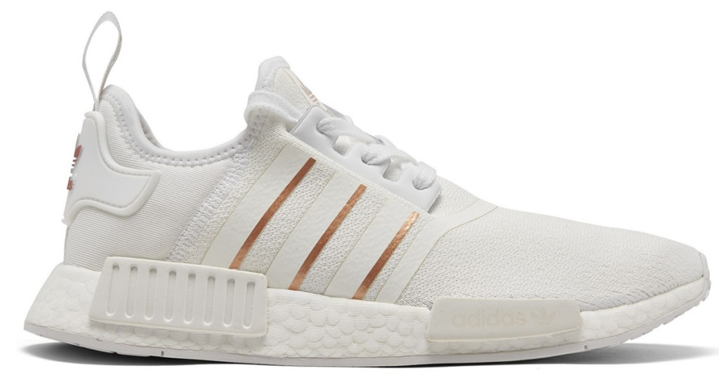 adidas womens sneaker white and gold
