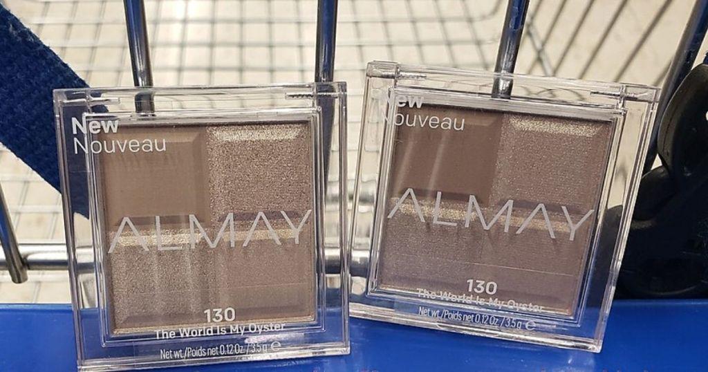 Almay eyeshadows in cart