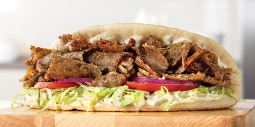 Arby's Greek, Turkey & Roast Beef Gyros Only $2 | Today Only