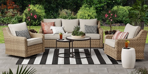 This Affordable Patio Furniture Set is $5K LESS Than Pottery Barn!