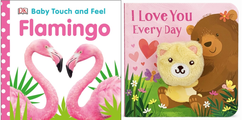 Flamingo and I Love You Every Day board books