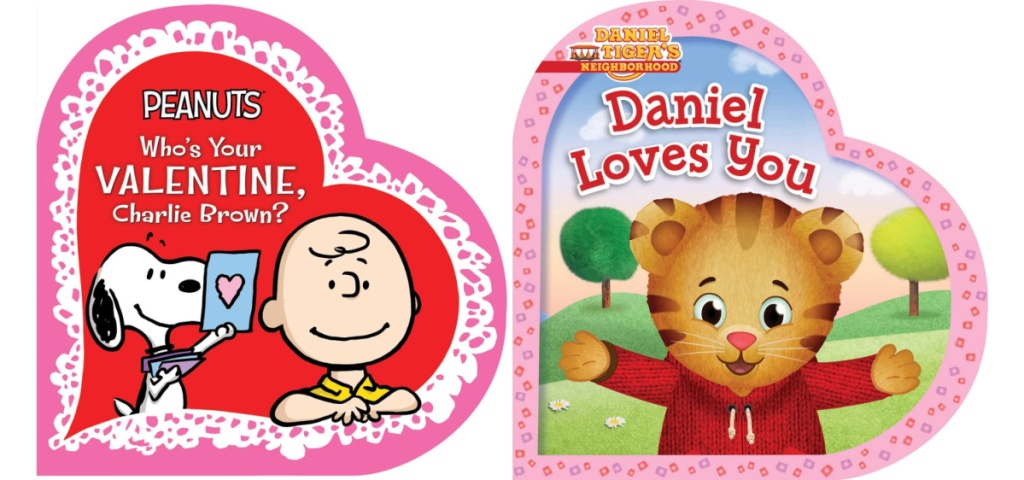 Who's Your Valentine Charlie Brown? and Daniel Loves You Board books