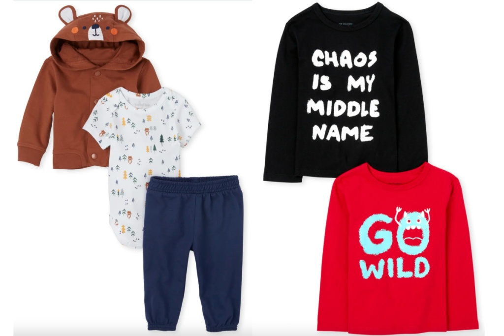baby and toddler boys apparel
