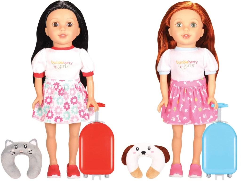 2 bumbleberry girls travel sets