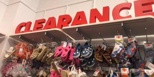 GO! Carter's Clearance Up to 80% Off | Face Masks from 79¢, Shoes from $2.99 & More