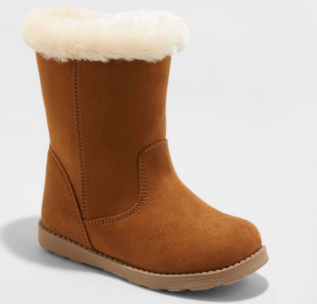 cat and jack shearling boot