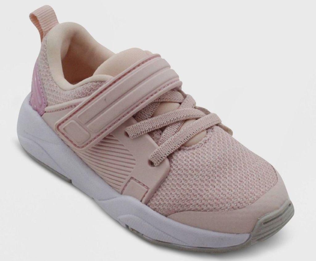 cat & jack kids sneaker in blush pink