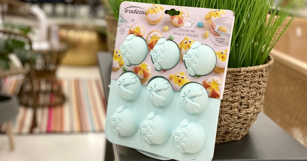 chick cupcake mold in store at target