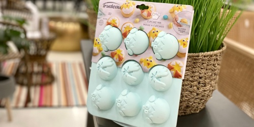Silicone Easter Cupcake Pan Just $12.99 at Target | Eggs-tra Cute Baking Tools, Food Storage & More!