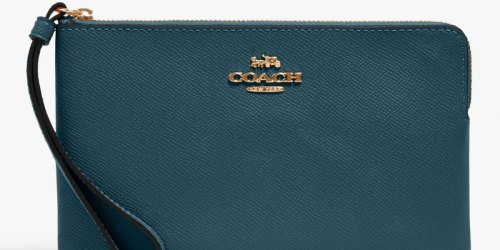 Coach Large Wristlet from $39 Shipped (Regularly $118+) | 70% Off Backpacks, Totes & More