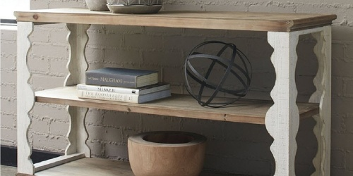 Up to 45% Off Signature Design by Ashley Furniture + FREE Shipping   Desks, Accent Tables, & More